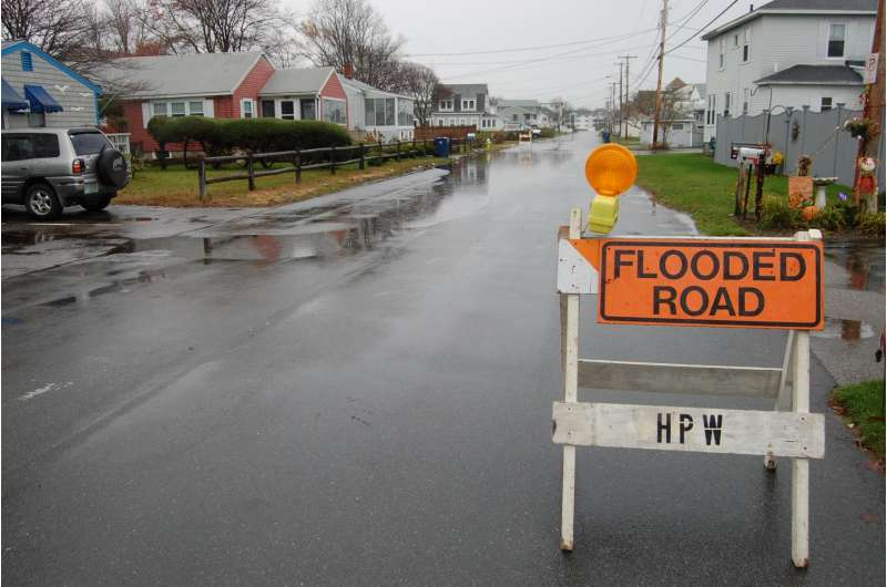 UNH research finds seacoast roads under new threat from rising sea level