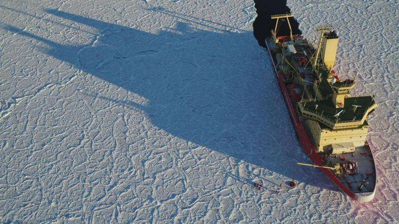 Unprecedented Antarctic expedition maps sea ice to solve climate change mystery