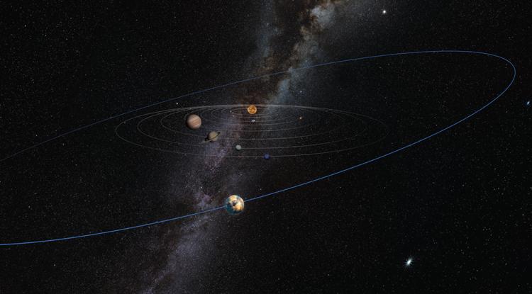 "Unseen ""planetary mass object"" signalled by warped Kuiper Belt"