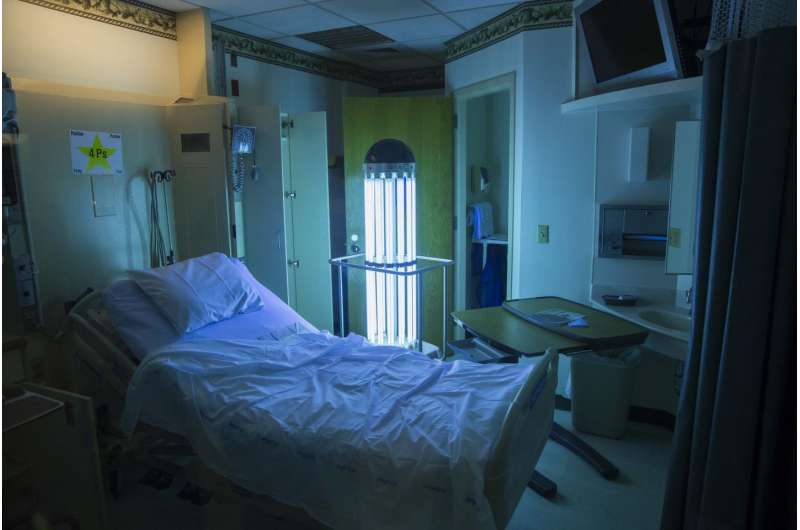 UV light can aid hospitals' fight to wipe out drug-resistant superbugs