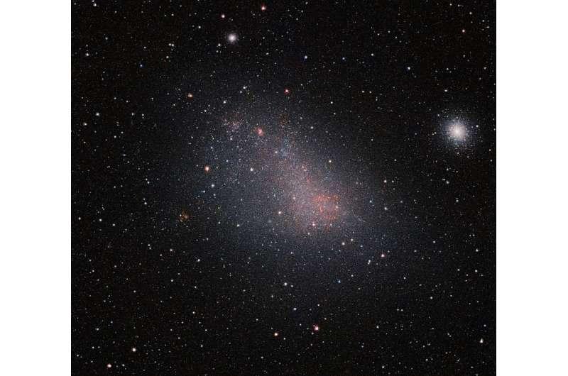 VISTA peeks through the Small Magellanic Cloud's dusty veil