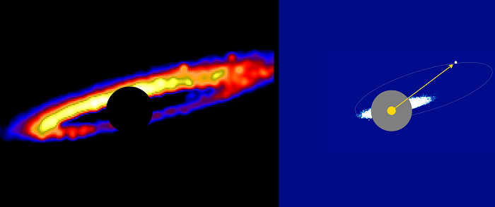 Visualizing debris disk 'roller derby' to understand planetary system evolution