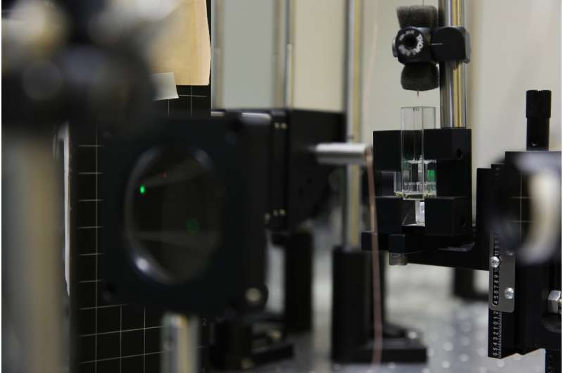 Volumetric 3-D printing builds on need for speed