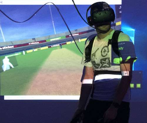 VR cricket game uses motion capture technology for full immersive experience