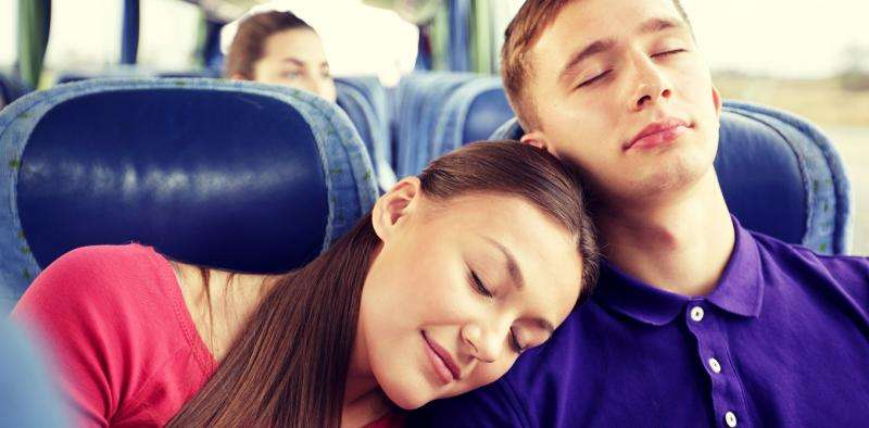 Want better sleep? Spend face-to-face time with your friends and family