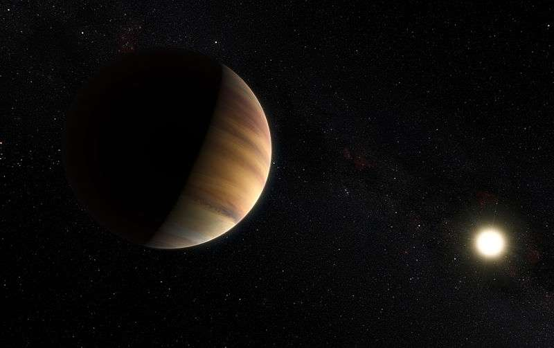 """Water detected in the atmosphere of a """"hot Jupiter"""" exoplanet 51 Pegasi b"""