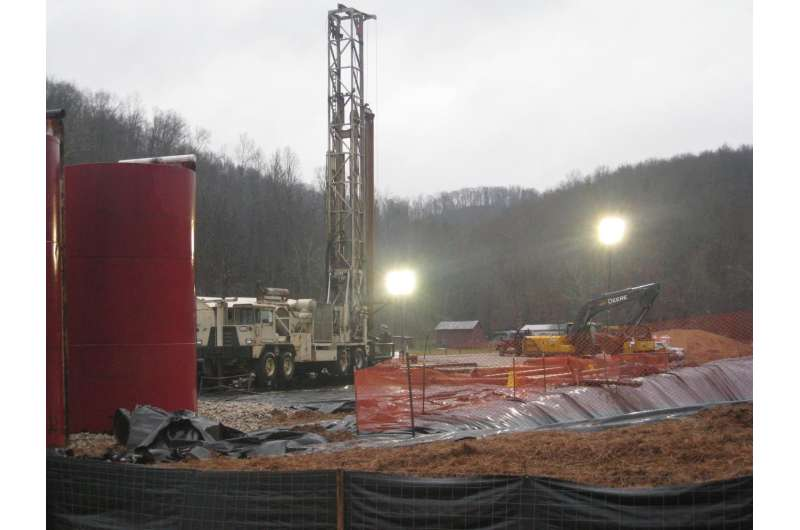 West Virginia groundwater not affected by fracking, but surface water is