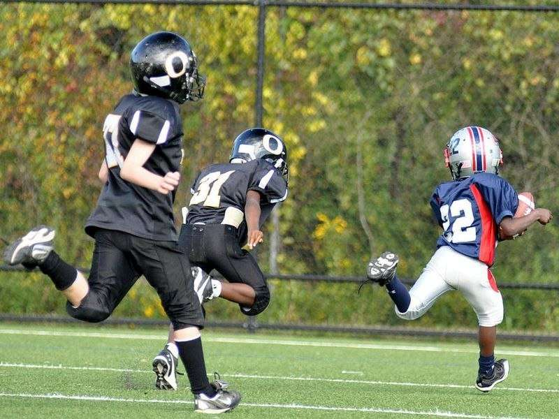 Who's most at risk of head injury in youth football?