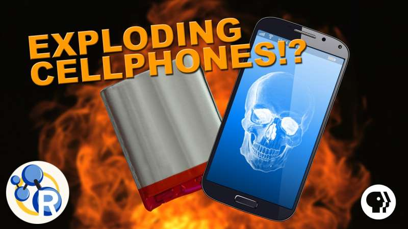 Why do phone batteries sometimes explode? (video)