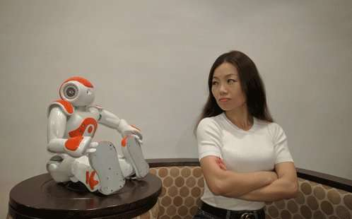 Women are less likely to trust robots who stare at them