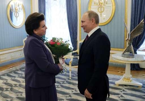 World's 1st woman in space, Valentina Tereshkova, turns 80