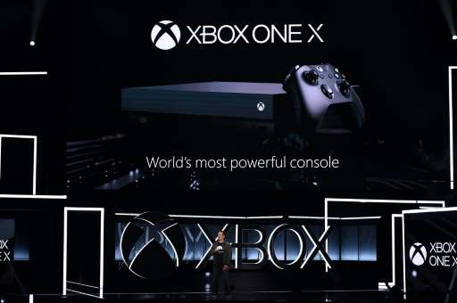 XBox Chief Phil Spencer introduced the much anticipated Xbox One X at a Microsoft event ahead of the official opening of the Ele