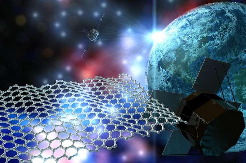 Zero gravity: Graphene for space applications