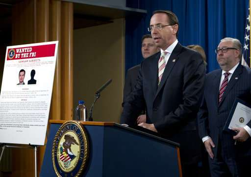 2 Iranian hackers charged in US ransomware scheme