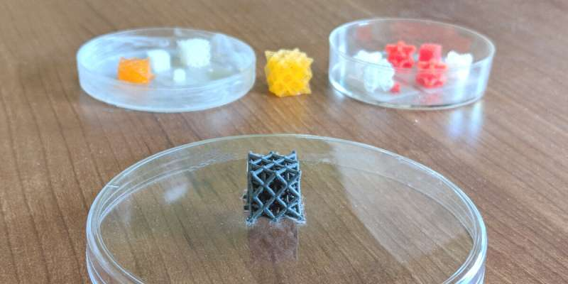 3-D printed active metamaterials for sound and vibration control