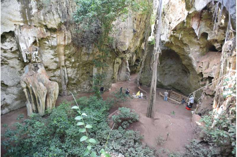 78,000 year cave record from East Africa shows early cultural innovations