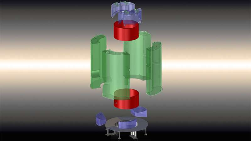 Acrylic tanks provide clear window into dark matter detection