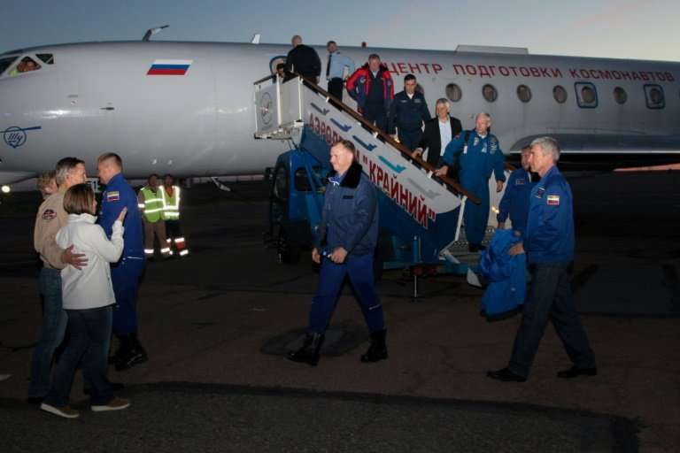 Aleksey Ovchinin and Nick Hague are now waiting for the results of a probe into why the Soyuz rocket malfunctioned