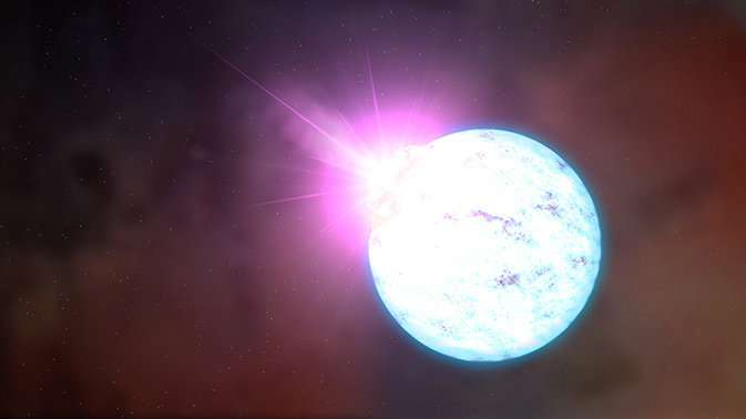 A magnetar just woke up after three years of silence