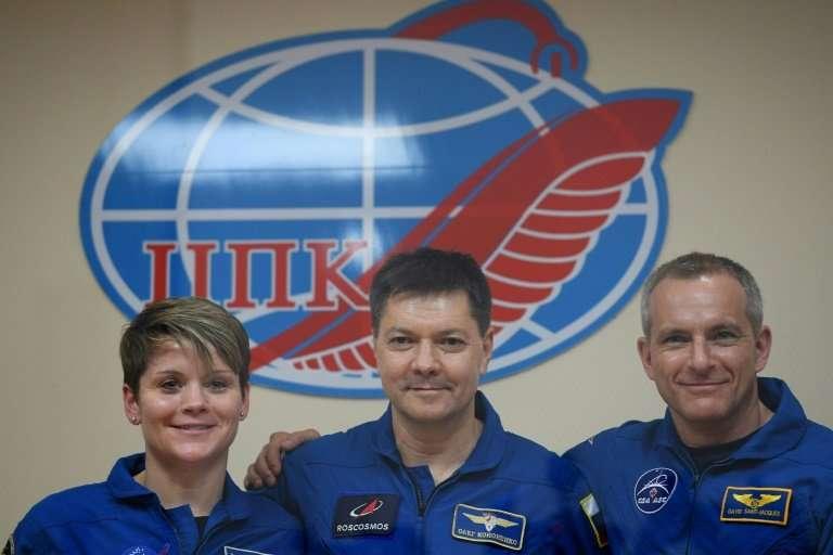 Anne McClain, Oleg Kononenko, and David Saint-Jacques say risk is just part of their job