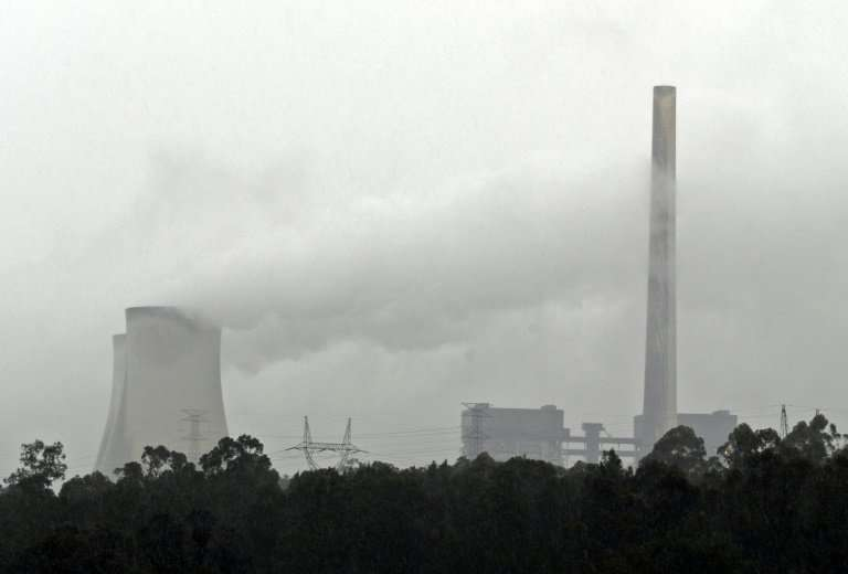 Australia's conservative government is under pressure to act on climate change by curbing pollution
