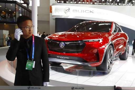 Beijing Auto show highlights e-cars designed for China