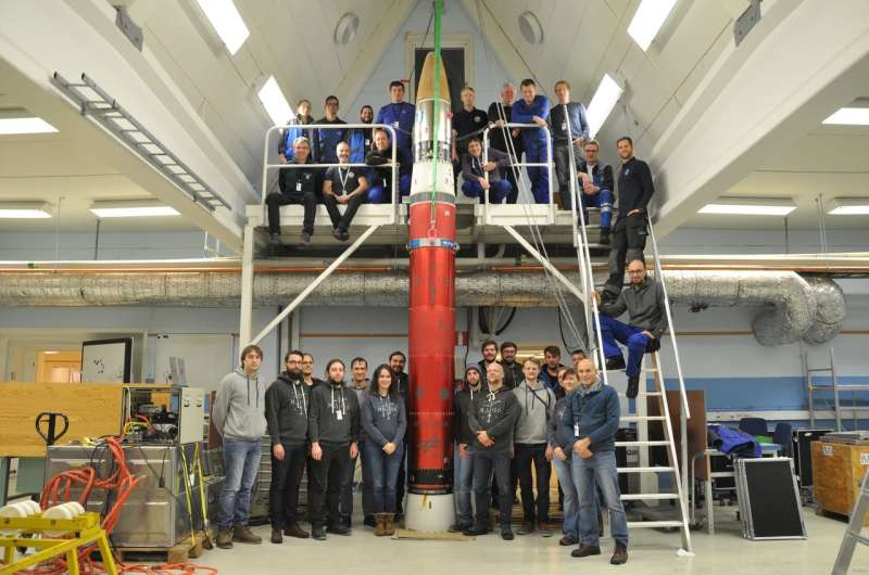 Bose-Einstein condensate generated in space for the first time