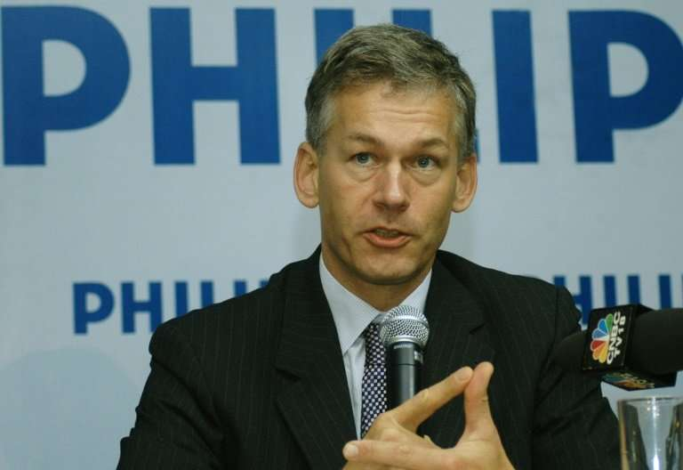 """Chief Executive Officer of Philips Semiconductors, Frans Van Houten, said he was """"deeply concerned about the competitivenes"""