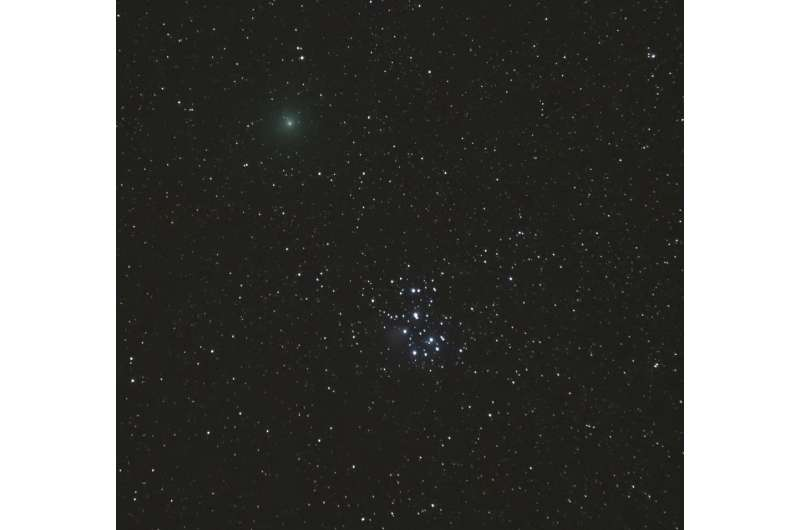 Comet hunters successfully observe Wirtanen with newly modernized instrument at W. M. Keck Observatory