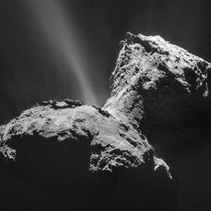 Did key building blocks for life come from deep space?