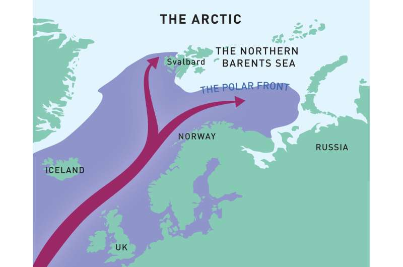 Dramatic shift to Atlantic climate in Arctic warming hotspot