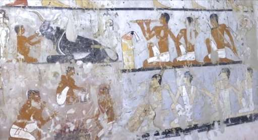 According to Egypt, a 4,400 year old tomb was discovered outside of Cairo
