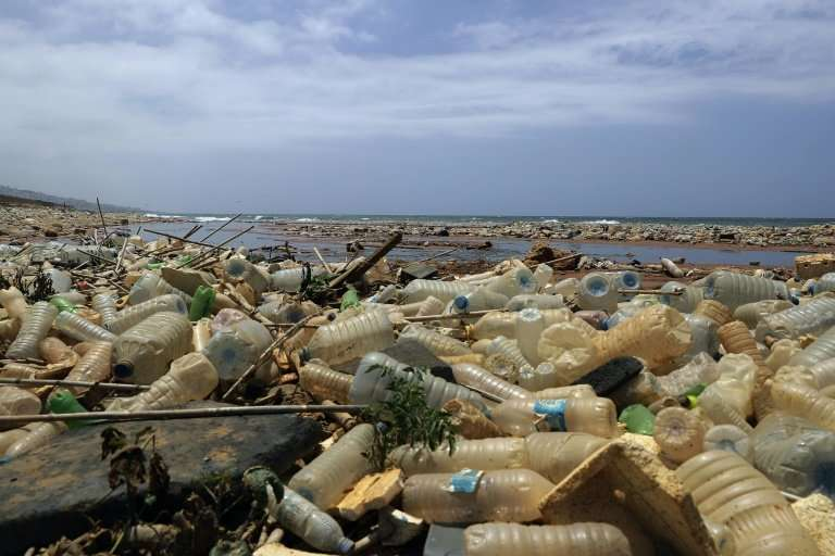 Eight million tonnes of plastic is spilled into the oceans each year, according to a study in the Science journal