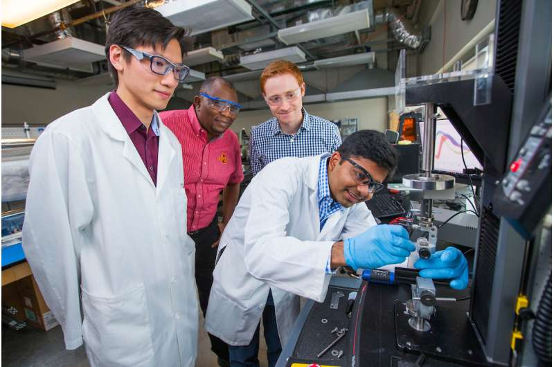 Engineers develop smart material that changes stiffness when twisted or bent