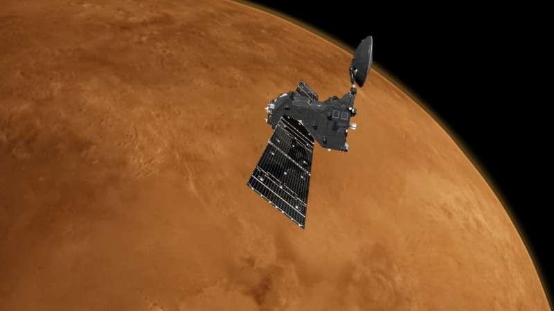ExoMars returns first images from new orbit