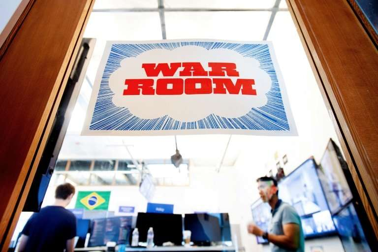 """Facebook, which has launched a """"War Room"""" to guard against US election interference, says it will provide regular repo"""