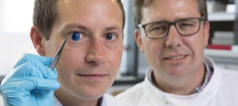First 3D-printed human corneas