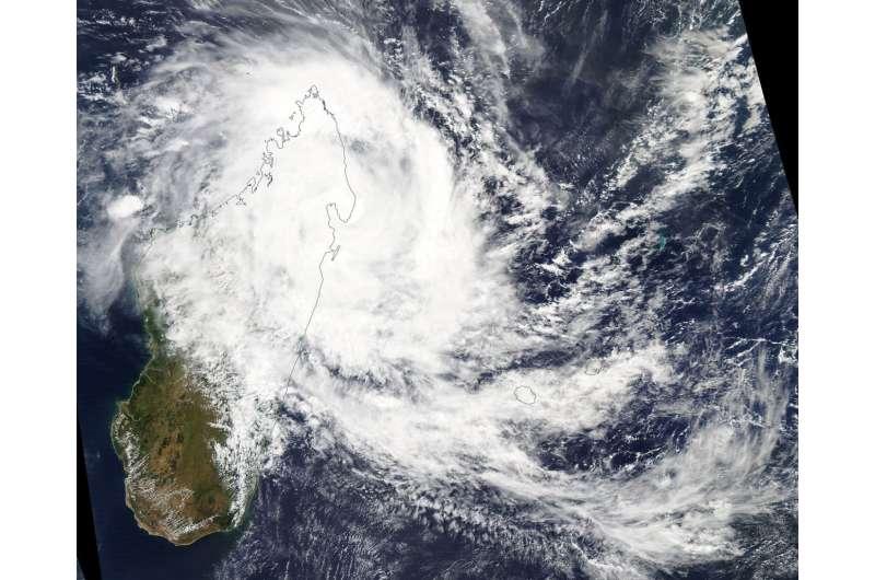 GPM sees Tropical Cyclone Eliakim bring Madagascar soaking rainfall