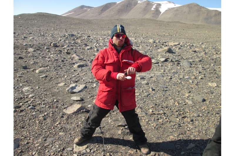 In Antarctic dry valleys, early signs of climate change-induced shifts in soil