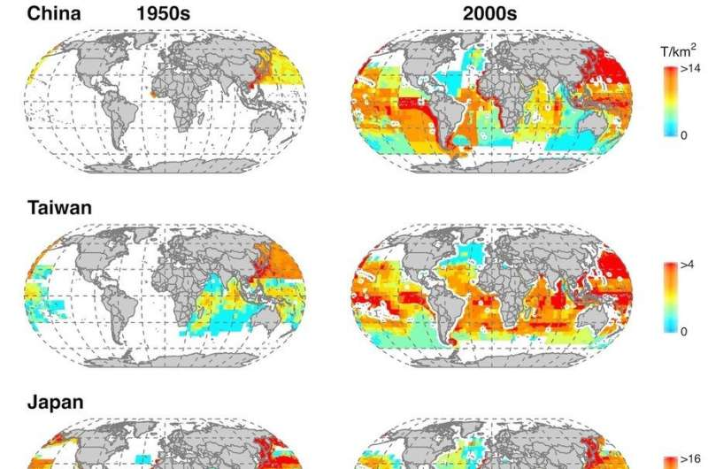 Industrial fisheries' expansion impacts 90 per cent of the global ocean, causes massive catch decline