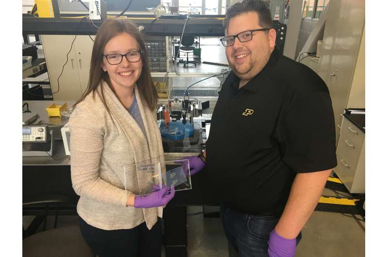 Inkjet-printed thermite deposits energetic materials safely