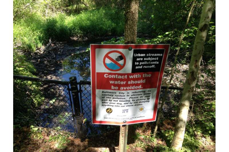 In urban streams, pharmaceutical pollution is driving microbial resistance