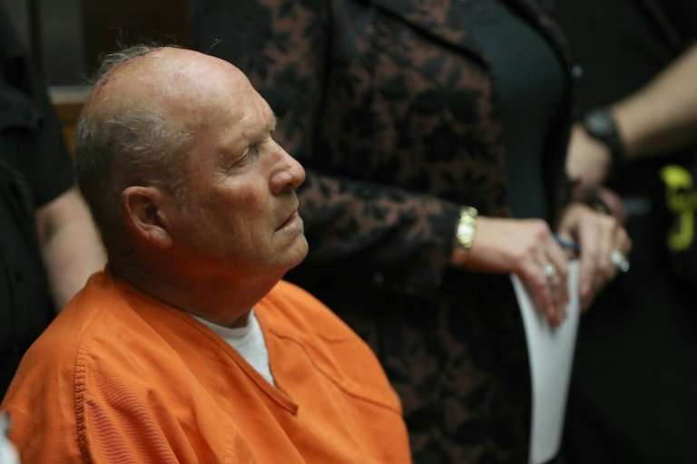 """Joseph James DeAngelo, the suspected """"Golden State Killer,"""" was arrested after a 40-year search and charged with two 1"""