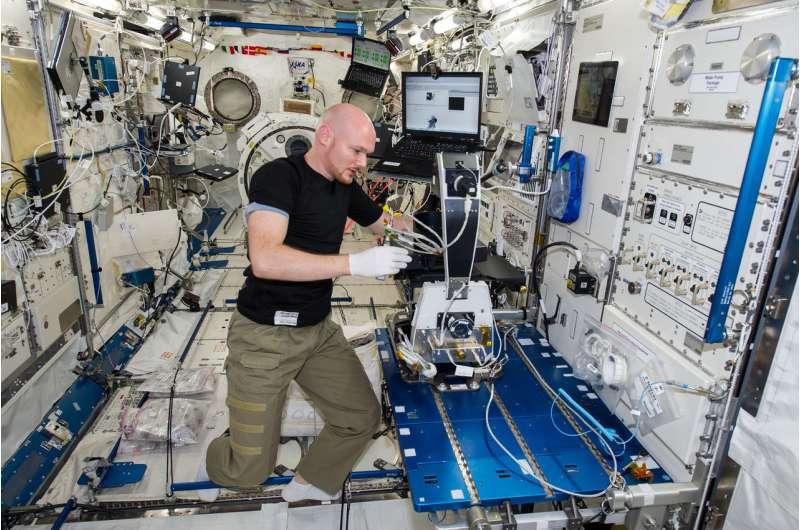 Machine intelligence on the ISS