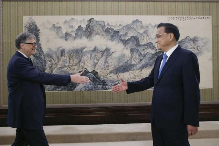 """Microsoft co-founder  Bill Gates meets Premier Li Keqiang in Beijing last year. Li has pledged China will """"strictly protect"""
