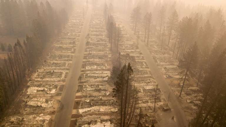 More than 12,000 homes were destroyed by fire in Paradise