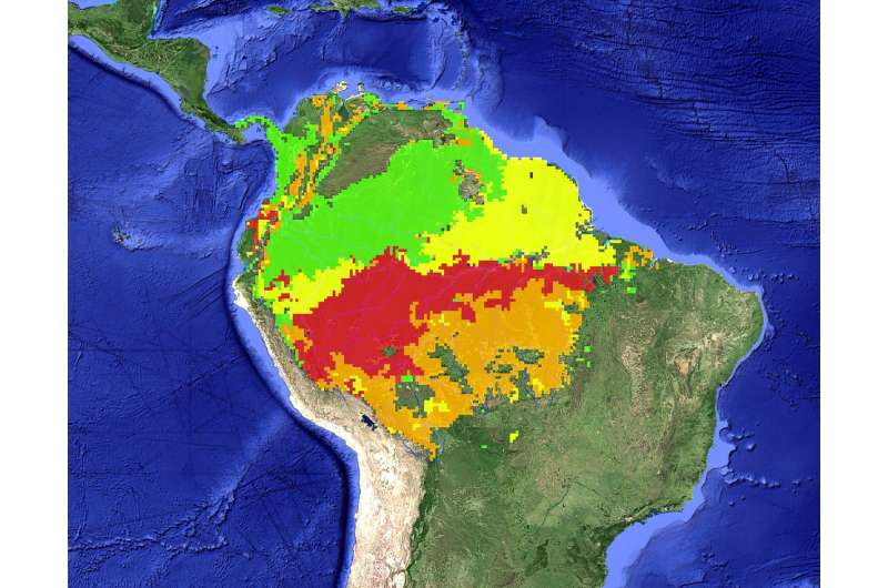 NASA finds Amazon drought leaves long legacy of damage