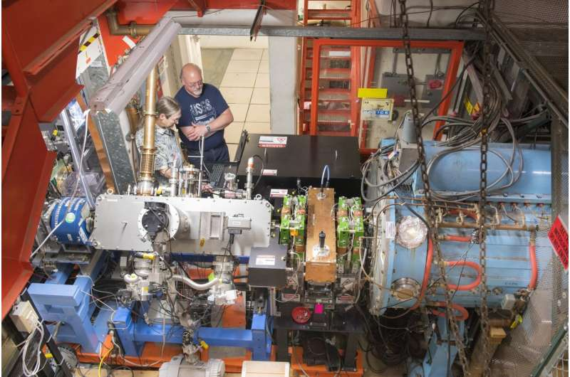 New laser technology shows success in particle accelerators