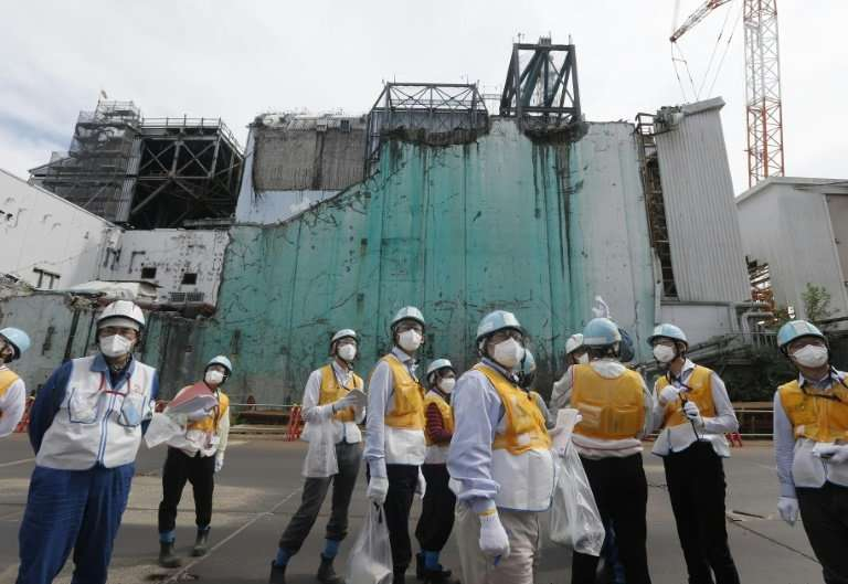 Officials have been gradually trying to rebrand the Fukushima nuclear plant, bringing in school groups, diplomats and other visi