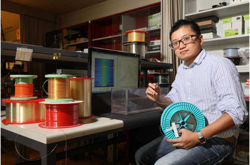 Optical fibers that can 'feel' the materials around them